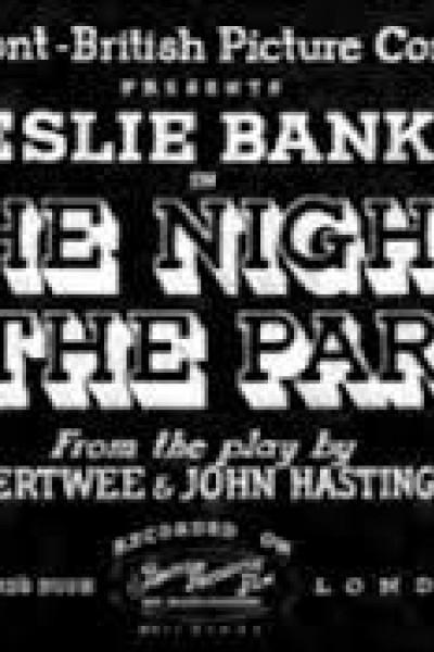 Caratula, cartel, poster o portada de The Night of the Party