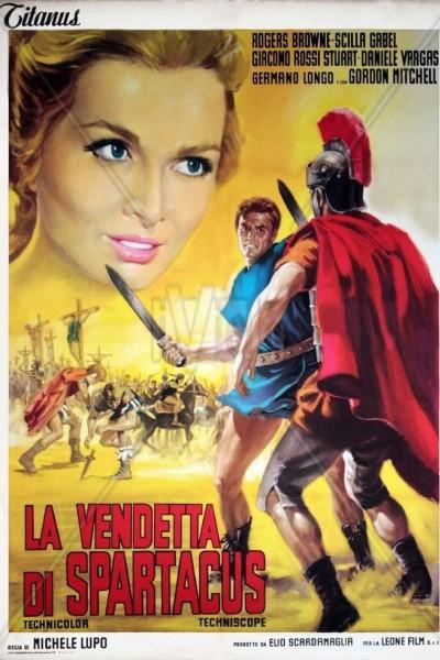 Caratula, cartel, poster o portada de La venganza de Espartaco