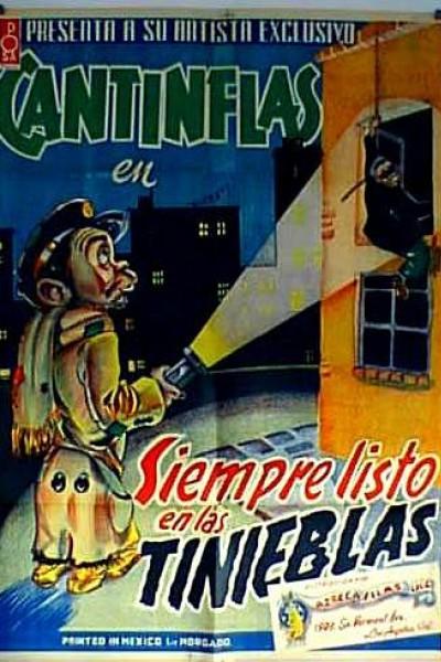 Caratula, cartel, poster o portada de Siempre listo en las tinieblas