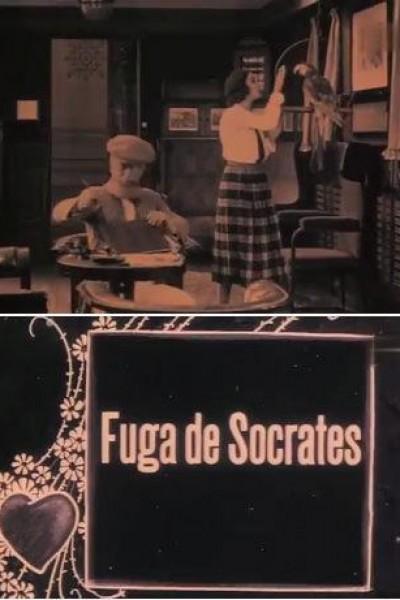 Caratula, cartel, poster o portada de La fuga di Socrate