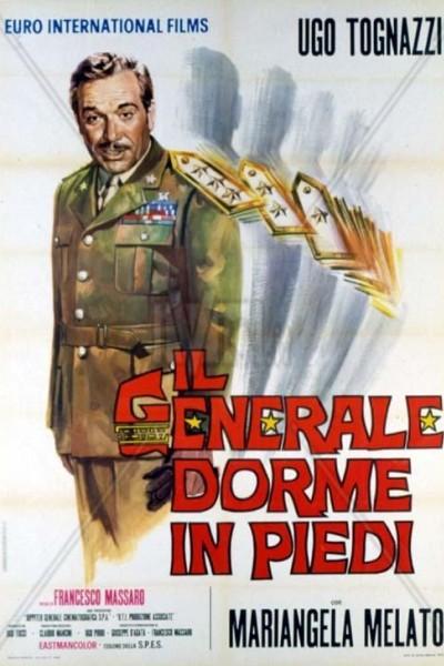 Caratula, cartel, poster o portada de Il generale dorme in piedi