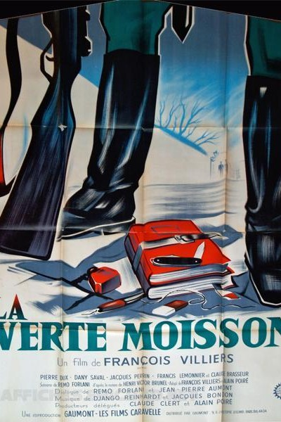 Caratula, cartel, poster o portada de La verte moisson