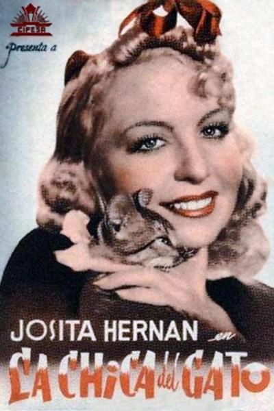 Caratula, cartel, poster o portada de La chica del gato