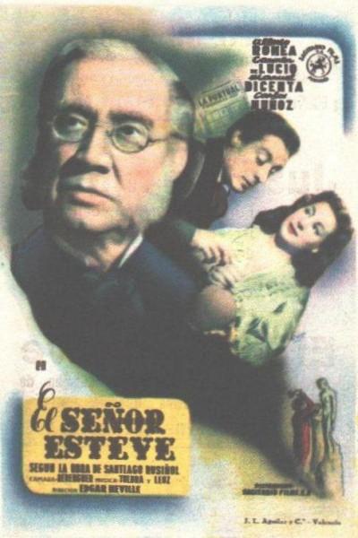 Caratula, cartel, poster o portada de El señor Esteve