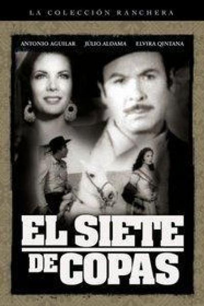 Caratula, cartel, poster o portada de El siete de copas
