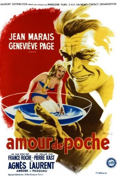 Caratula, cartel, poster o portada de Un amour de poche
