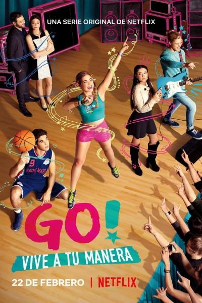 Caratula, cartel, poster o portada de Go! Vive a tu manera