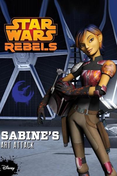 Caratula, cartel, poster o portada de Star Wars Rebels: Ataque con arte