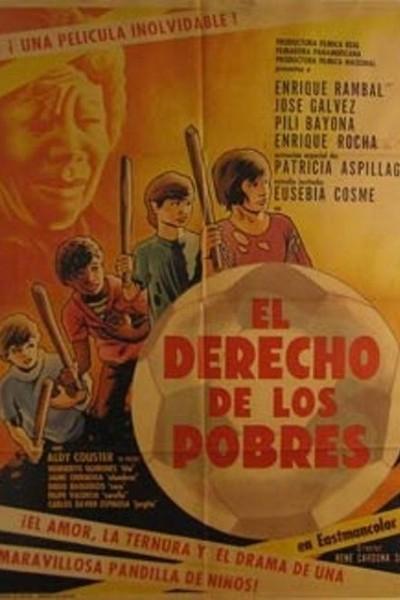 Caratula, cartel, poster o portada de El derecho de los pobres
