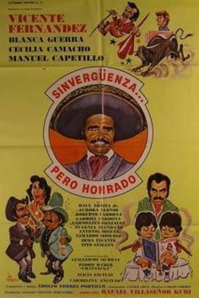 Caratula, cartel, poster o portada de Sinvergüenza... pero honrado