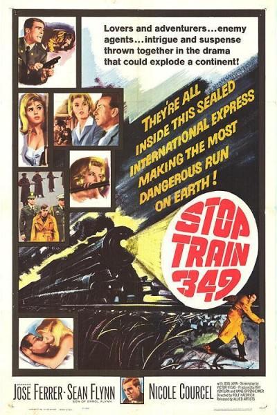 Caratula, cartel, poster o portada de El fugitivo del tren de Berlín