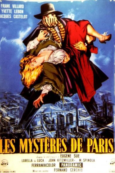 Caratula, cartel, poster o portada de Los misterios de París