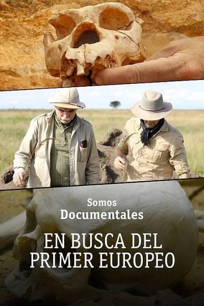 Caratula, cartel, poster o portada de En busca del primer europeo