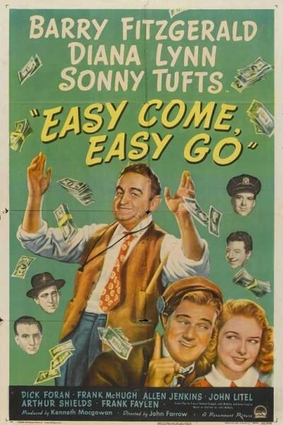 Caratula, cartel, poster o portada de Easy Come, Easy Go