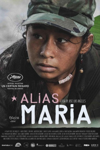 Caratula, cartel, poster o portada de Alias María