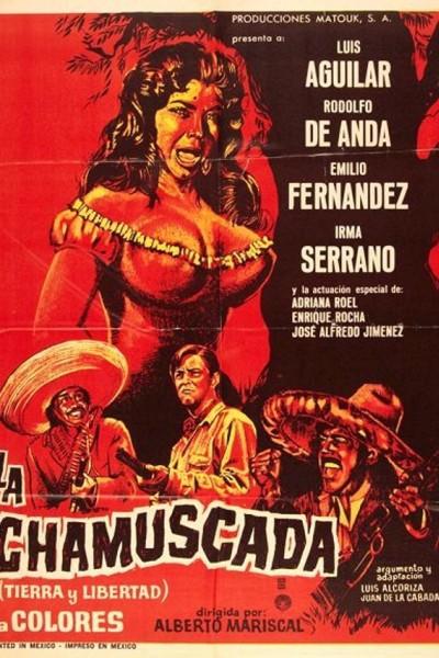 Caratula, cartel, poster o portada de La chamuscada (Tierra y libertad)