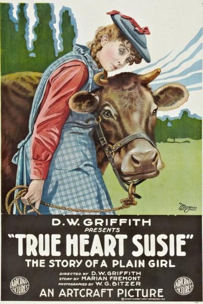 Caratula, cartel, poster o portada de Pobre amor (El verdadero corazón de Susie)