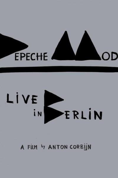 Caratula, cartel, poster o portada de Depeche Mode: Live in Berlin