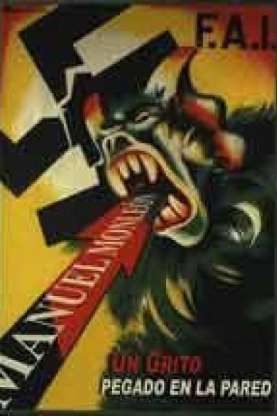 Caratula, cartel, poster o portada de Manuel Monleón, un grito pegado en la pared