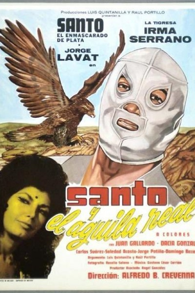 Caratula, cartel, poster o portada de Santo y el águila real