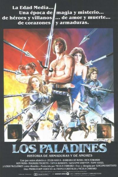 Caratula, cartel, poster o portada de Los paladines