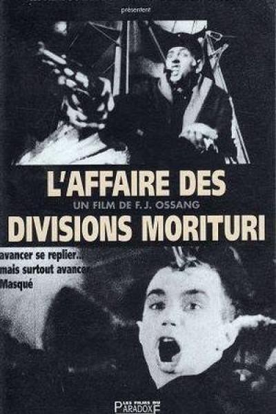 Caratula, cartel, poster o portada de L\'affaire des divisions Morituri
