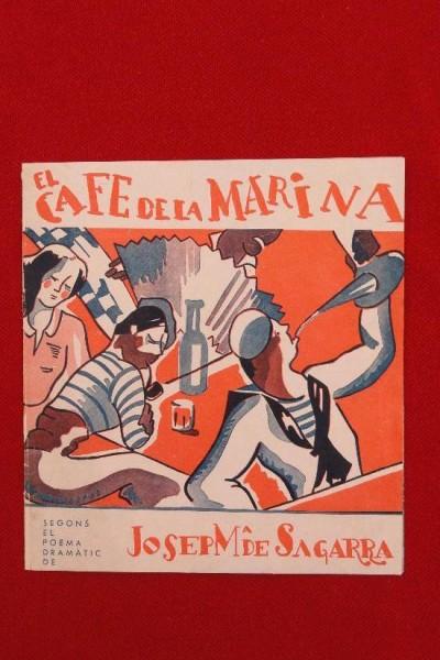Caratula, cartel, poster o portada de El café de la Marina (El cafè de la Marina)