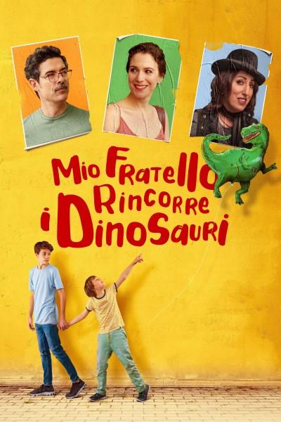Caratula, cartel, poster o portada de Mi hermano persigue dinosaurios