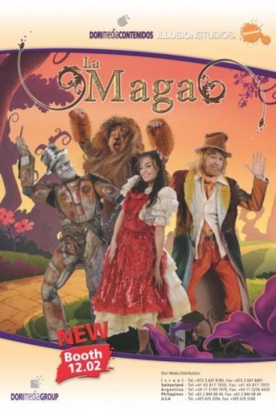 Caratula, cartel, poster o portada de La Maga