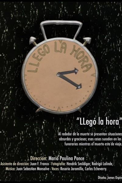 Caratula, cartel, poster o portada de Llegó la hora