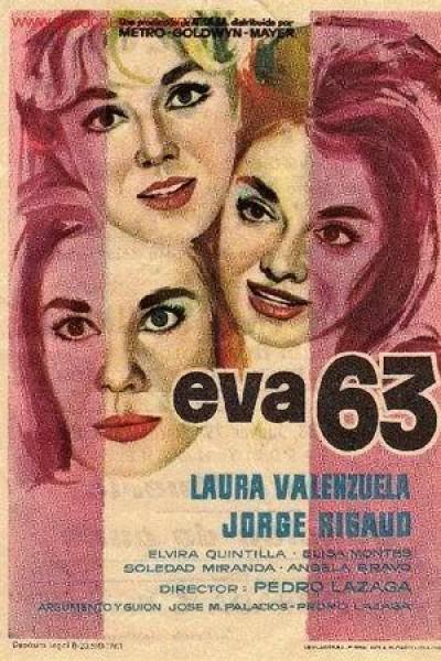 Caratula, cartel, poster o portada de Eva 63
