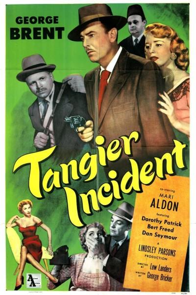 Caratula, cartel, poster o portada de Tangier Incident