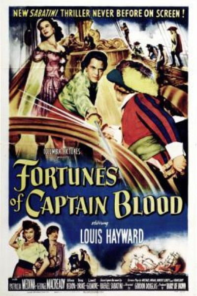 Caratula, cartel, poster o portada de Fortunes Of Captain Blood