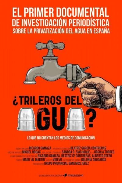 Caratula, cartel, poster o portada de ¿Trileros del agua?