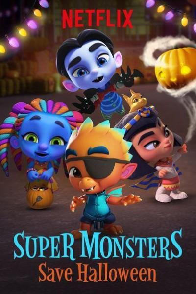 Caratula, cartel, poster o portada de Super Monsters Save Halloween