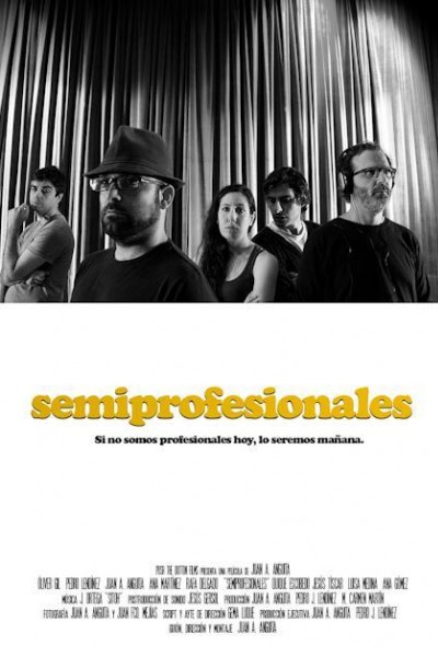 Caratula, cartel, poster o portada de Semiprofesionales