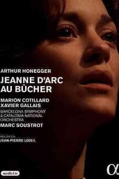 Caratula, cartel, poster o portada de Jeanne d\'Arc au bûcher