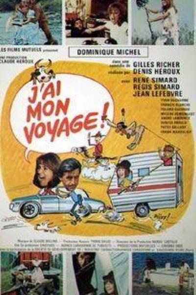 Caratula, cartel, poster o portada de J\'ai mon voyage!
