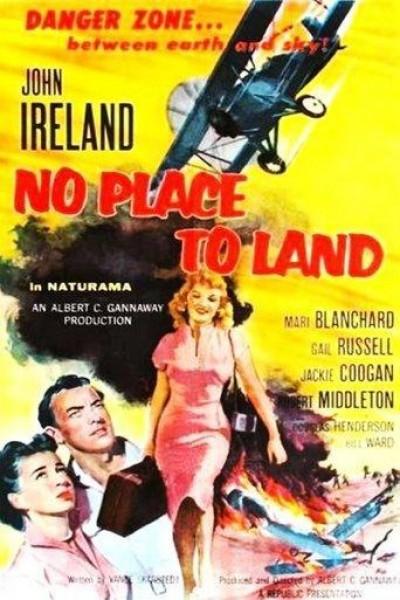 Caratula, cartel, poster o portada de No Place to Land