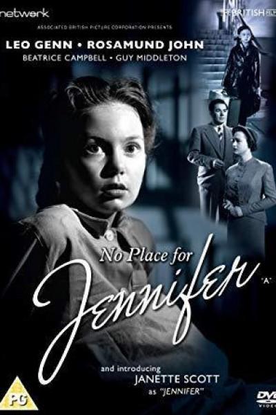 Caratula, cartel, poster o portada de No hay lugar para Jennifer