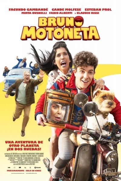 Caratula, cartel, poster o portada de Bruno Motoneta