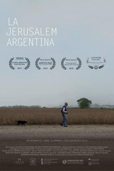 Caratula, cartel, poster o portada de La Jerusalem argentina