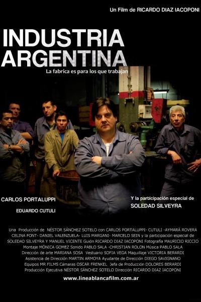 Caratula, cartel, poster o portada de Industria Argentina