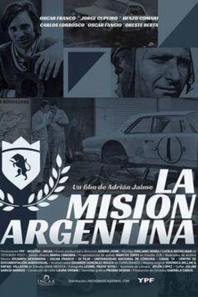Caratula, cartel, poster o portada de La misión argentina