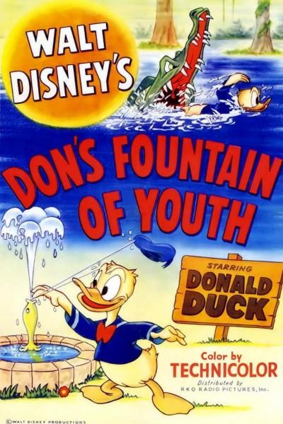 Caratula, cartel, poster o portada de Pato Donald: La fuente de la juventud