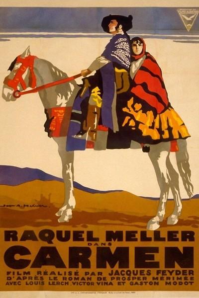 Caratula, cartel, poster o portada de Carmen