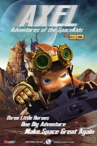 Caratula, cartel, poster o portada de Axel, el aventurero del espacio