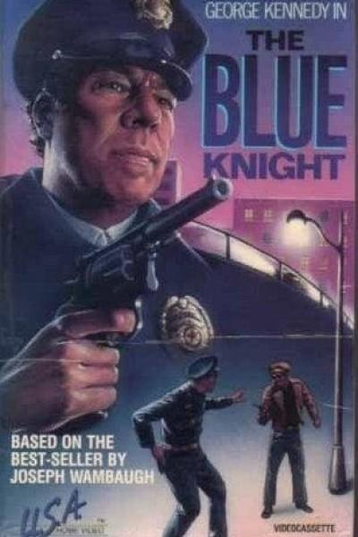 Caratula, cartel, poster o portada de El caballero de azul