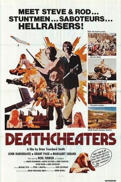 Caratula, cartel, poster o portada de Deathcheaters