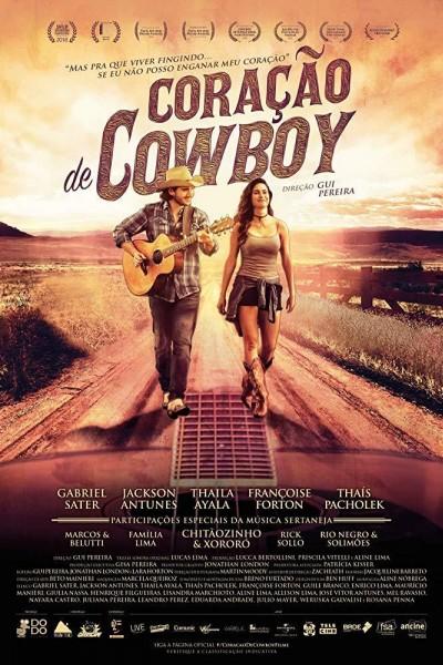 Caratula, cartel, poster o portada de Coração de Cowboy